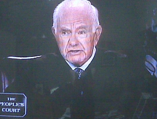 https://flic.kr/p/8onWgY | Judge Wapner | Special Guest on today's Peoples Court - Judge Wapner!  90 yrs old and just as classy. Dude always ran an awesome court.  Though Judge Judy is pretty awesome in her own right, too.