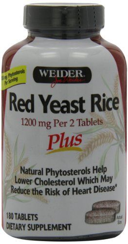 Product review for Weider Red Yeast Rice Plus with Phytosterols 1200 mg per 2 Tablets - 180 Tablets -  Reviews of Weider Red Yeast Rice Plus with Phytosterols 1200 mg per 2 Tablets – 180 Tablets. Buy Weider Red Yeast Rice Plus with Phytosterols 1200 mg per 2 Tablets – 180 Tablets on ✓ FREE SHIPPING on qualified orders. Buy online at BestsellerOutlets Products Reviews website.  -  http://www.bestselleroutlet.net/product-review-for-weider-red-yeast-rice-plus-wit