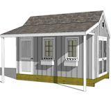 Shed Roof Porch | Large Shed Plans | Find Plans Online for Large Storage Sheds