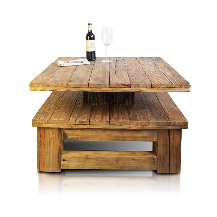 Stackable wooden table Authentico by KARE-DESIGN | KARE ...