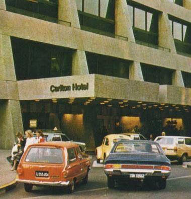 Carlton Hotel circa 1977
