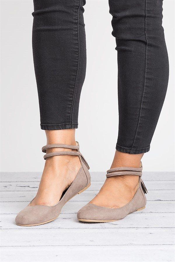 Tassel Ballerina Flats