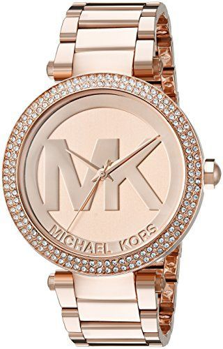 Michael Kors Women's Parker Rose Gold-Tone Watch MK5865 - http://dressfitme.com/michael-kors-womens-parker-rose-gold-tone-watch-mk5865/