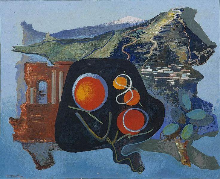 Synthesis of Taormina, 1939, Prampolini