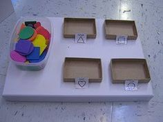 Special Education Resources: Work Task Box