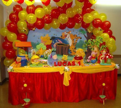 winnie the pooh baby shower decorating ideas | Fizzy Party: Winnie the Pooh Day