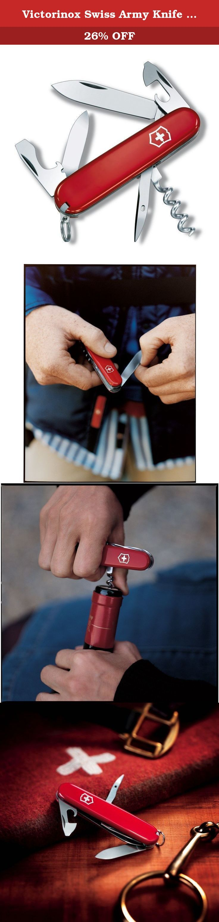 Victorinox Swiss Army Knife Spartan (Red). The product is Spartan Swiss Army Knife. Easy to use. The product is manufactured in China.