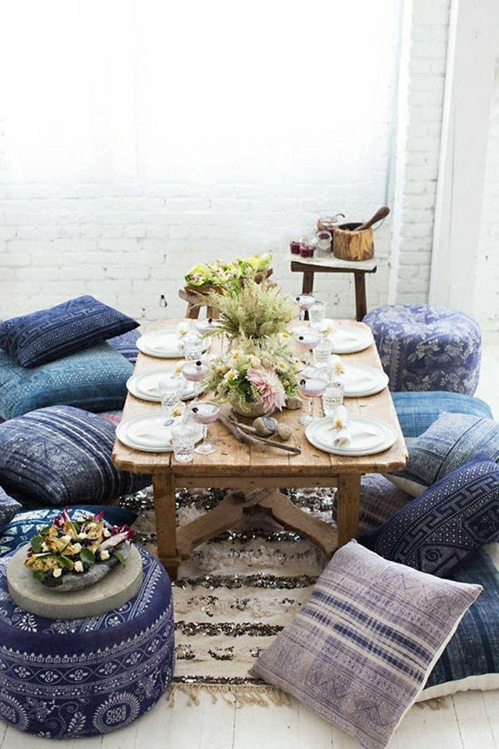 orientalische sitzkissen kissen bodensitzkissen sitzkissen für zuhause pouf sitzkissen
