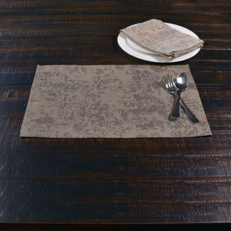Rebecca Grey Placemat - Set of 6