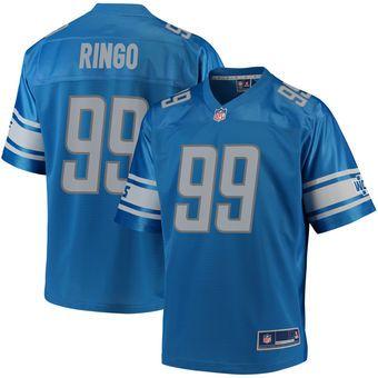 aed583612 Christian Ringo Detroit Lions NFL Pro Line Player Jersey – Blue ...