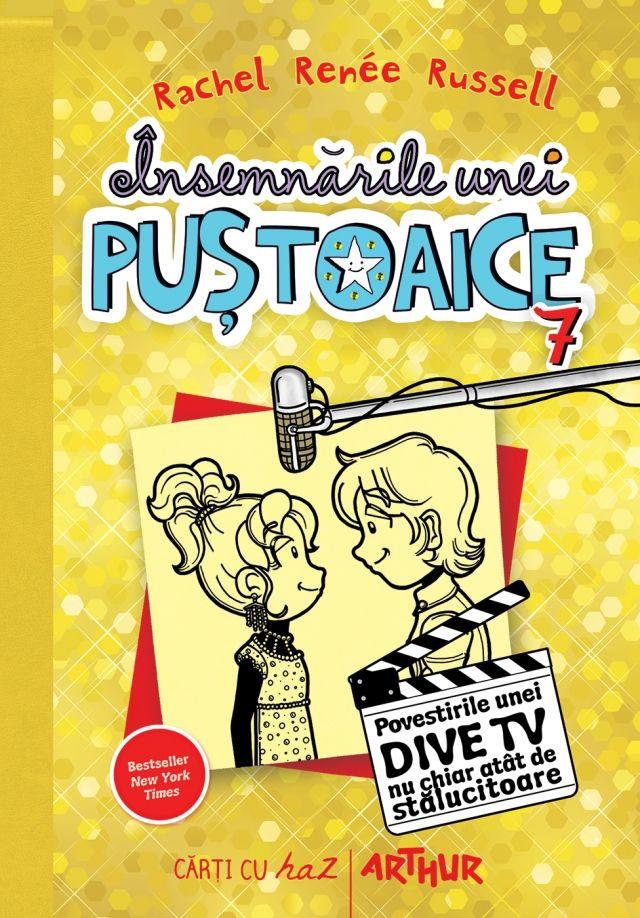 Însemnările unei puștoaice 7. Povestirile unei dive TV nu chiar atât de strălucitoare http://www.editura-arthur.ro/carte/insemnarile-unei-pustoaice-7-povestirile-unei-dive-tv-nu-chiar-atat-de-stralucitoare