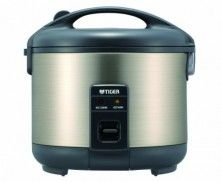 Tiger JNP-S10U Electric 5.5-Cup (Uncooked) Rice Cooker and Warmer with Stainless Steel Finish
