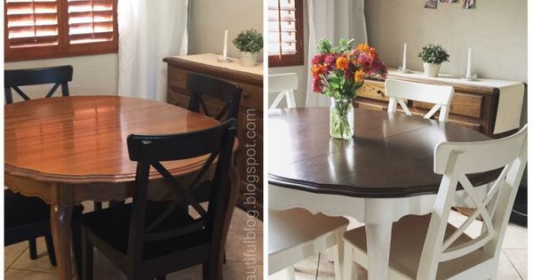 Refinished dining tables, Dining tables and Tables on Pinterest