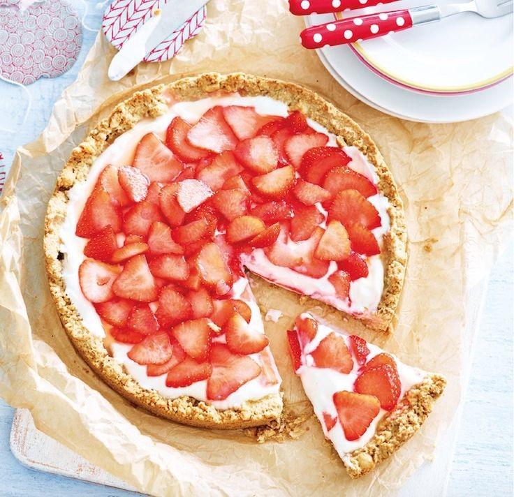 Ontbijttaart met aardbeien uit Het kidsproof-kookboek (nú te koop!)