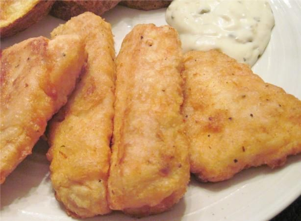 Uncle Bill s Deep Fried Tilapia Fish from Food.com: A very simple, easy to prepare and a tasty recipe. I have been trying out various recipes and finally came up with this recipe that does a great job for tilapia or halibut fish.