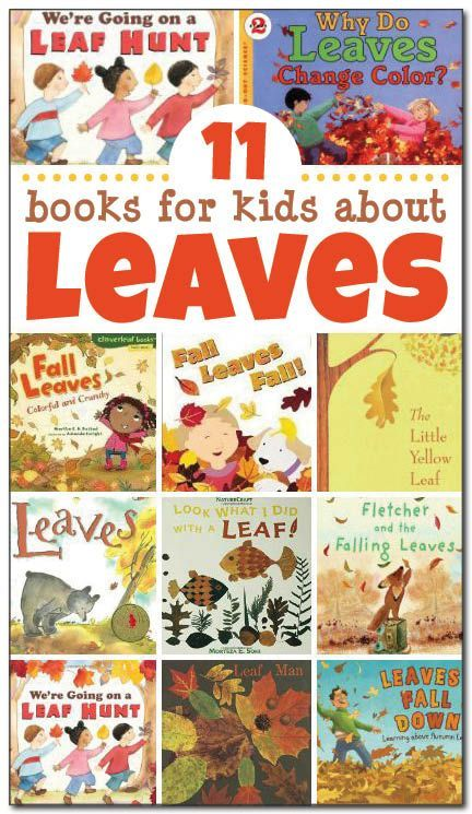 11 books for kids about leaves, including both non-fiction and fiction selections. This is a great list of children's books about leaves for a fall leaf unit study! || Gift of Curiosity
