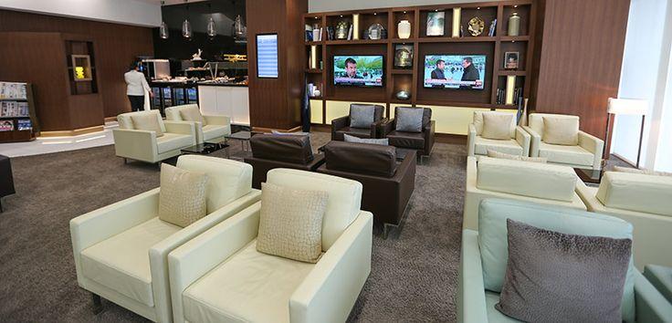 Etihad Premium Lounge in Abu Dhabi