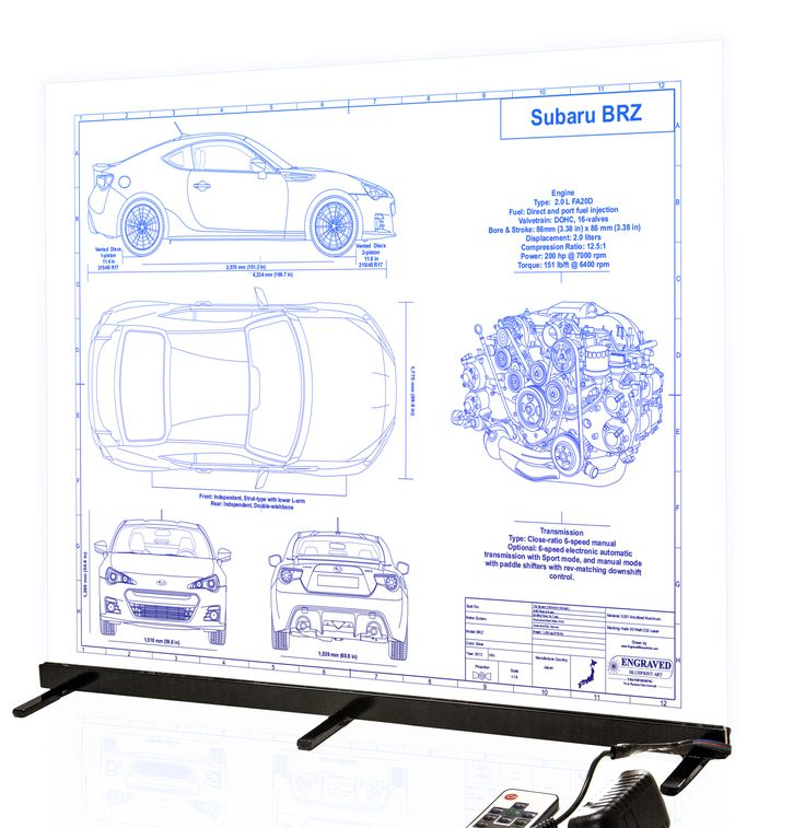 40 best laser engraved plastic engravecolorado images on subaru brz custom laser engraved blueprint artwork this piece was done with our edge light malvernweather Choice Image