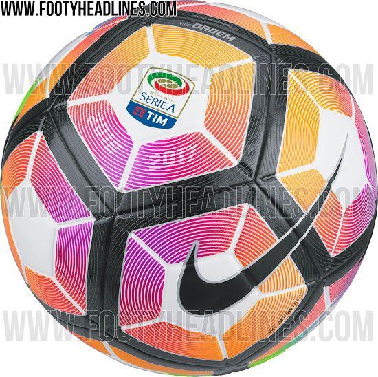 Nike Serie A 2016-2017 Ball Leaked - Footy Headlines
