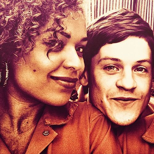 Misfits // Alisha & Simon. Super cute. I'll just pretend that's me and him, yeah?
