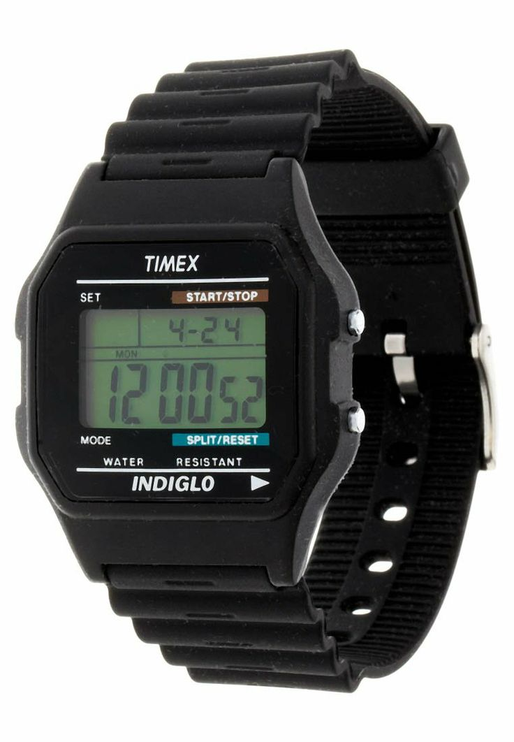 Timex - T75961 - Digitalklokke - sort