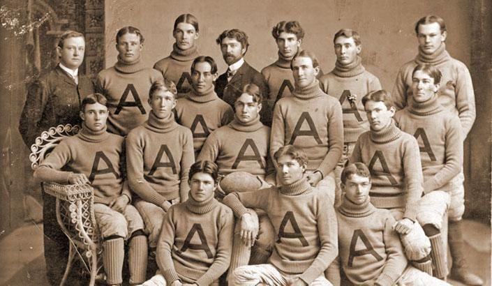 First Arizona football team.