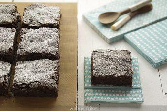 Brownies by webos fritos, para hacerlo paso a paso