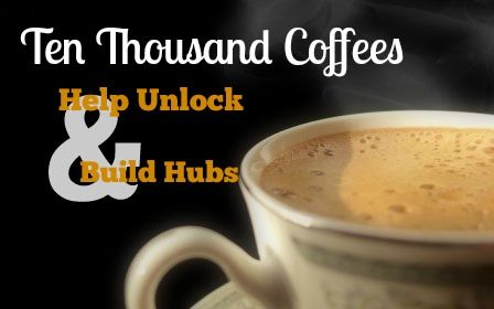 Cheap Students | Ten Thousand Coffees: Help Unlock and Build Hubs | http://cheapstudents.ca