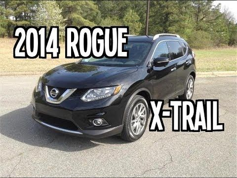 2014 NISSAN ROGUE X-Trail Review