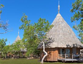 Sheraton New Caledonia Deva Resort & Spa - Amazing Bungalows for an Island feel with super modern furnishings - heavenly