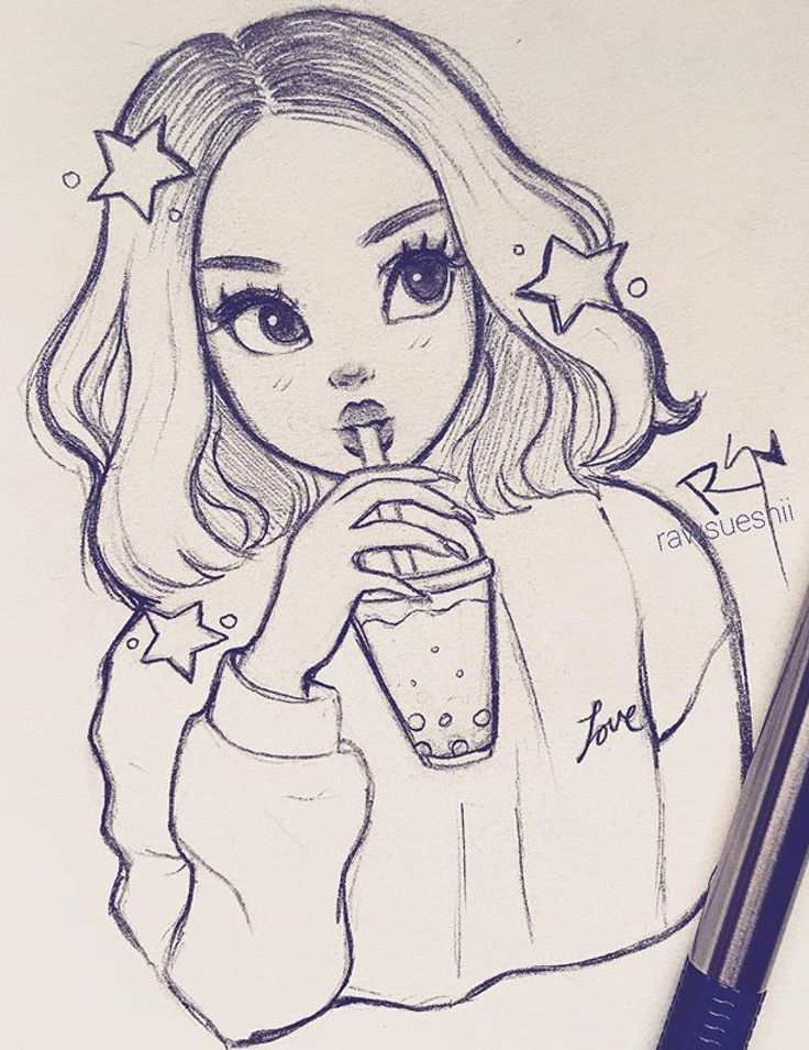 Best 12 Art Sketches Ideas Art Sketches Tumblr My Try Kunstskizzen Skizzenbuch Artsketchesani Di Girl Drawing Sketches Cool Art Drawings Sketches