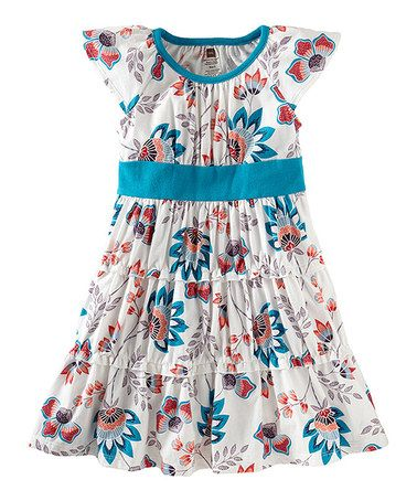 Milk Ardmore Floral Twirl Dress - Girls by Tea Collection on #zulily today!