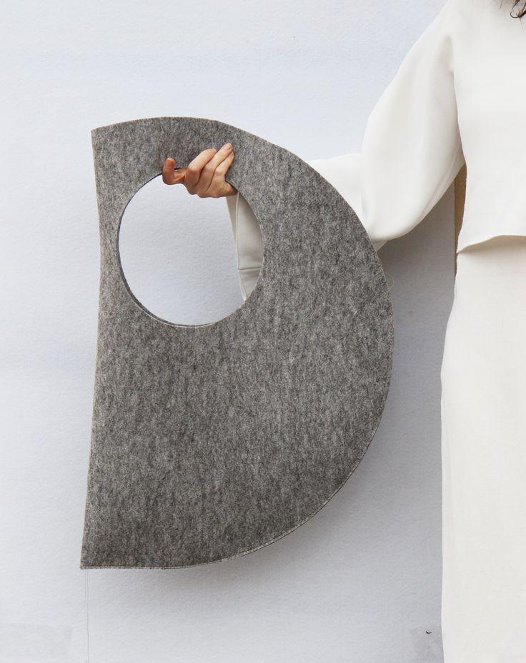 C Bag | IF irinaflorea | minimalist | geometry | www.facebook.com/... Women's Handbags & Wallets