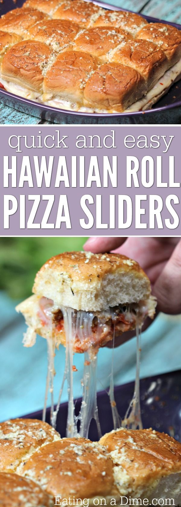 Looking for an easy sliders recipe for game day? Try this fun Hawaiian roll pizza sliders recipe today! It is a fun twist on a pizza without all the work!
