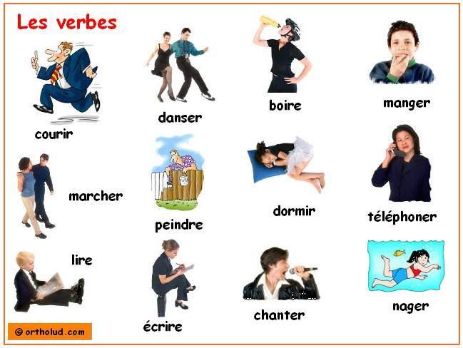how to say le in french