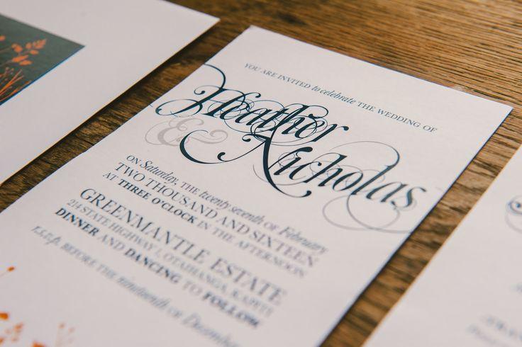 {something} botanic   Wedding Stationery Suites   Photo by http://wedo.net.nz/