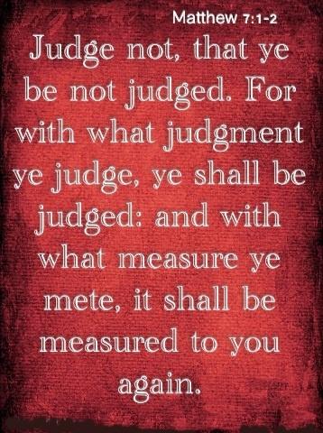 God is so Holy!! MATTHEW 7:1-2: Judgmental Ye, God Words, Inspiration, God Almighty, God Is, God Warning, Ye Judges, 7 1 2 Judges, Don'T Judges