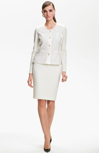 St. John Collection Cosmopolitan Tweed Jacket available at #Nordstrom