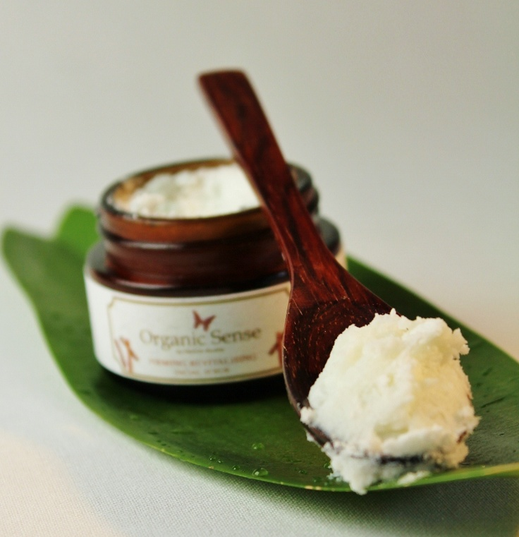 Organic Sense Skin Care- Revitalising Firming Facial Sugar Scrub