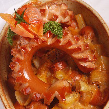 Virslis-krumplis egytálétel                                                  Receptek a Mindmegette.hu Recept gyűjteményében!