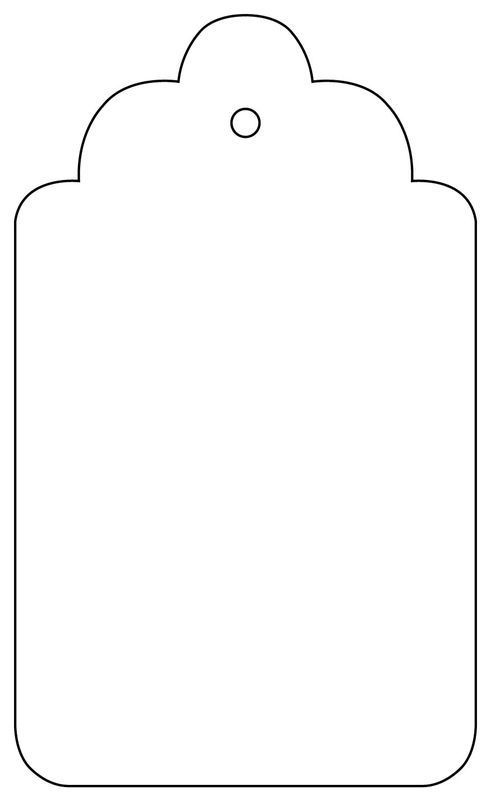 Image result for printable blank gift tags foldable