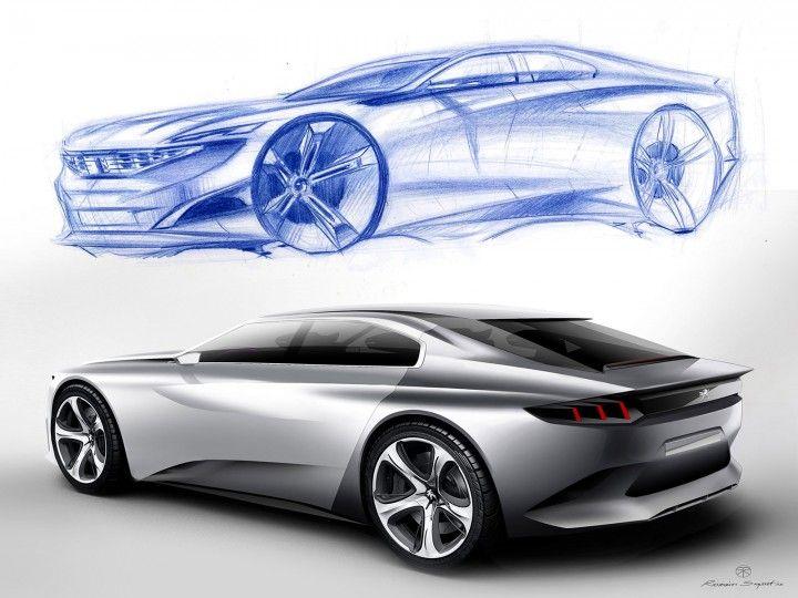 Peugeot Exalt Concept: Design Gallery