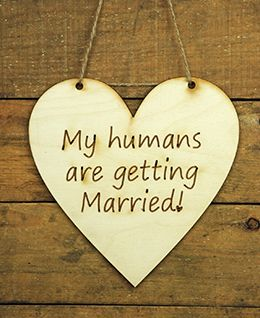 Wood Sign Humans Getting Married Heart                                                                                                                                                                                 More
