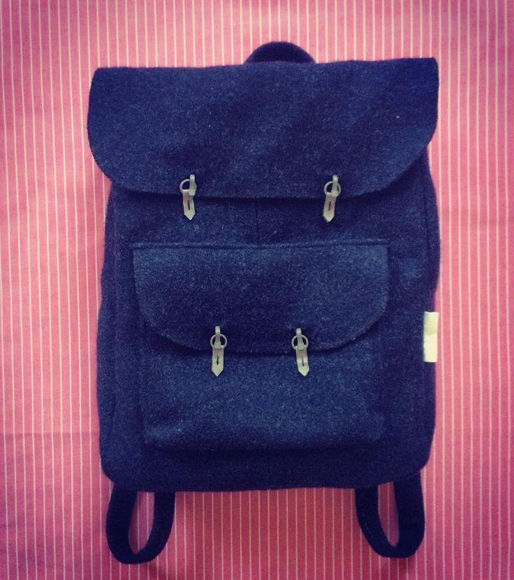 www.lizetvanderknaap.com #backpack #wool #🐑 #need #fashion #favorite #love #LIZETVANDERKNAAP