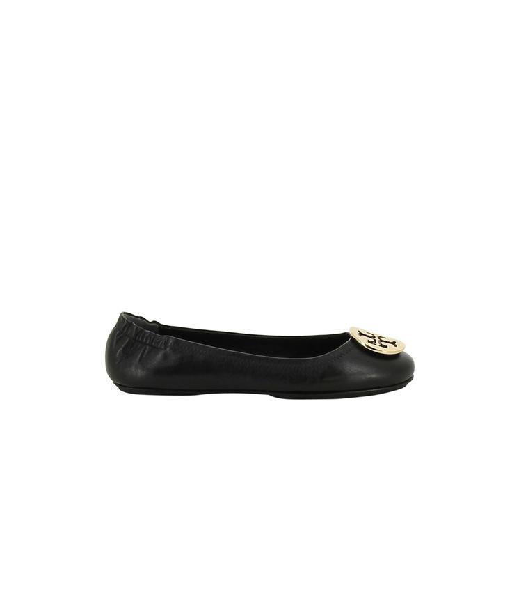 TORY BURCH Tory Burch Women'S  Black Leather Flats'. #toryburch #shoes #oxford