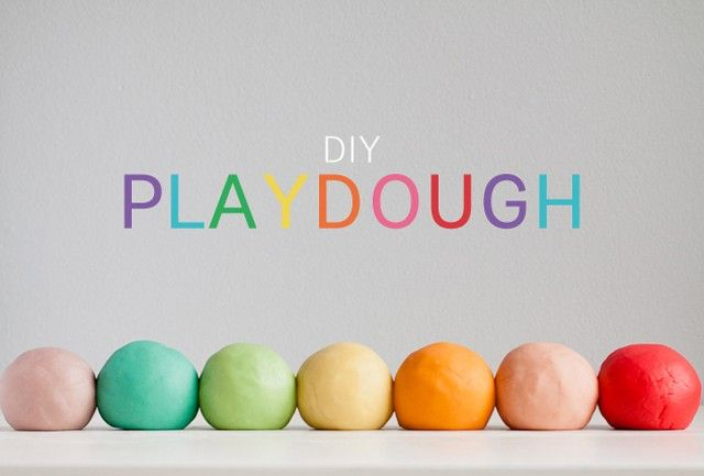 Make your own playdough.