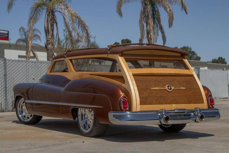 1950 Buick custom Estate Wagon Woody