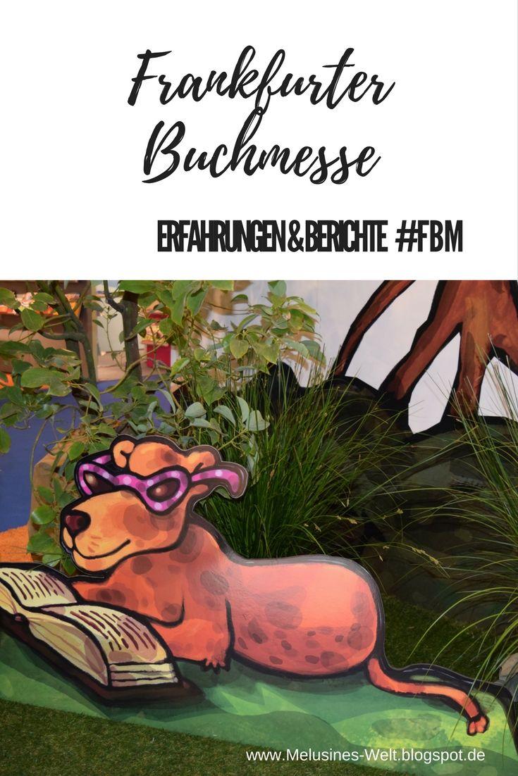Berichte und Erfahrungen zur Frankfurter Buchmesse findest du auf dem kreativen Buchblog Melusines Welt! www.Melusines-Welt.blogspot.de