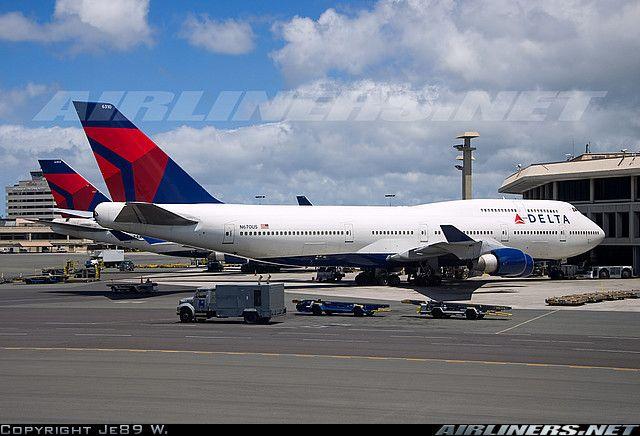 Delta 747-400 (post Northwest merger)