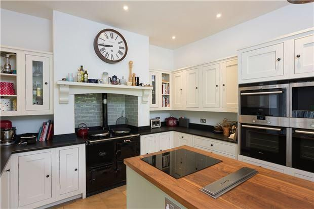 Cook's Kitchen in substantial Victorian country home, Bristol area